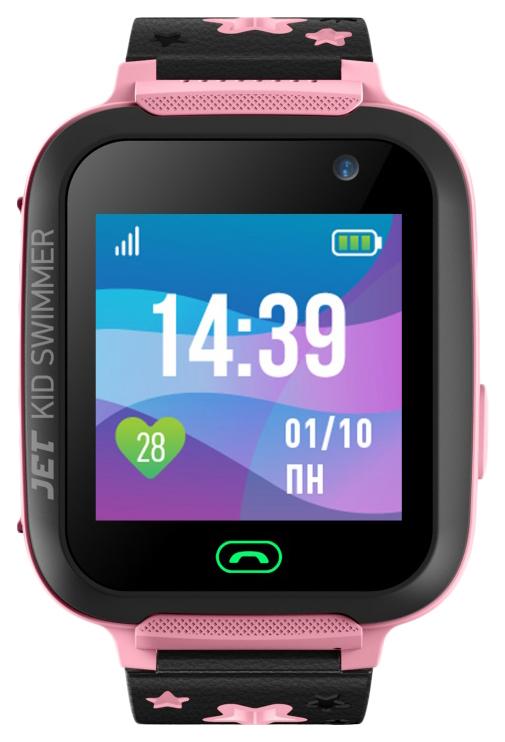 Детские смарт часы Jet Kid Swimmer Black/Pink