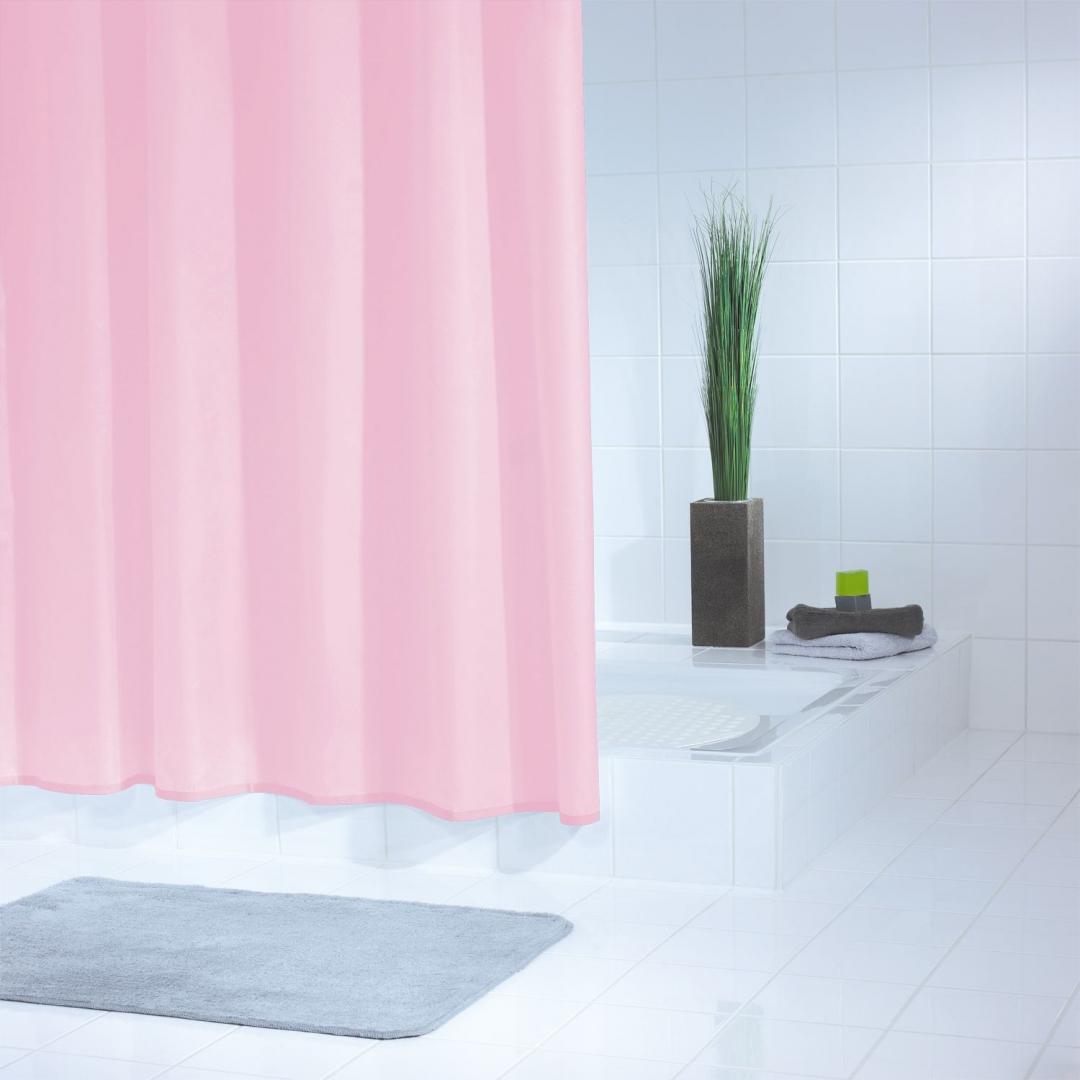 Штора для ванных комнат Standard розовый 180*200