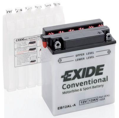 Аккумулятор автомобильный EXIDE EB12AL-A 12 Ач