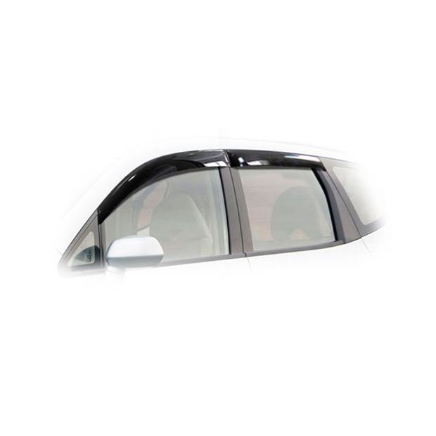 Дефлекторы на окна CA Plastic для Honda Fit 2001-2007 полупрозрачный