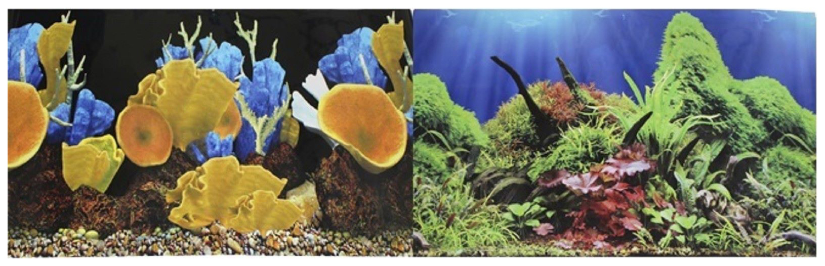 Фон для аквариума Prime Морские кораллы Подводный