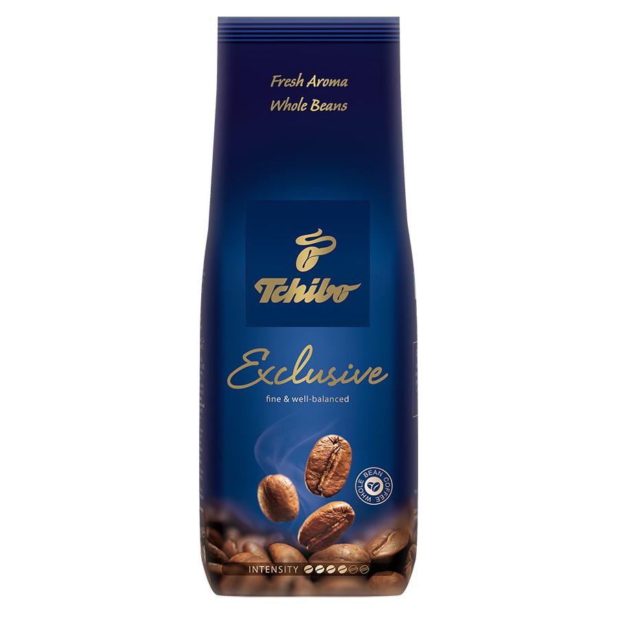 Зерновой кофе Tchibo exclusive 250 г