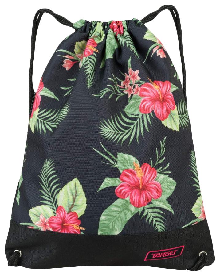 Мешок Target для детской сменной обуви Floral черный
