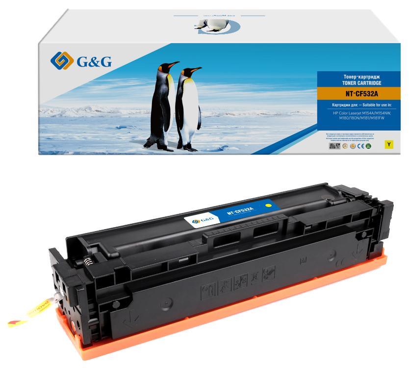 Тонер-картридж Gg NT-CF532A Желтый