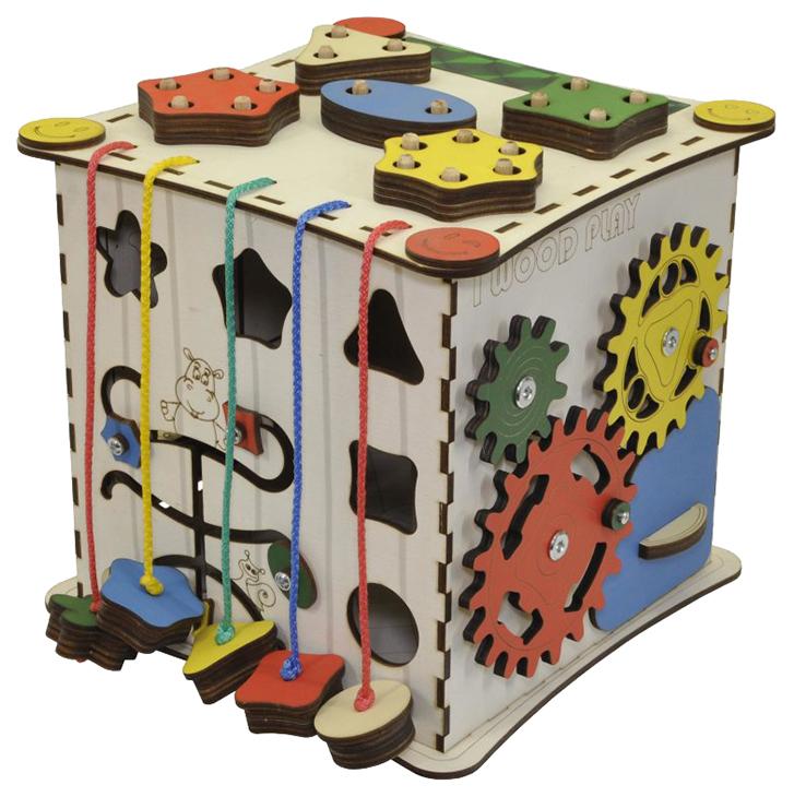 Развивающий куб IWOODPLAY 25 см арт. igk-01-01