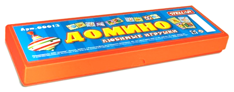 Купить Домино в футляре Stellar Любимые игрушки