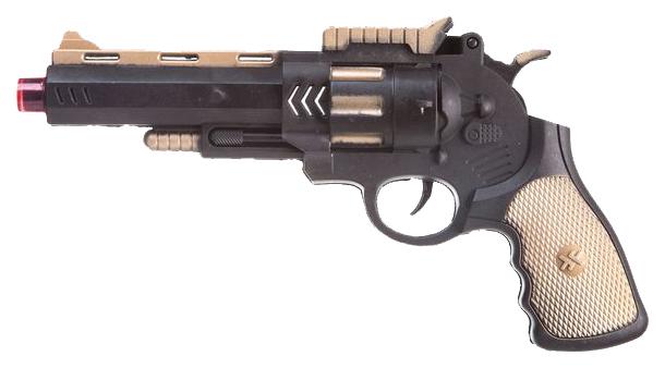 Купить Огнестрельное игрушечное оружие Shenzhen Toys Револьвер 28 см,