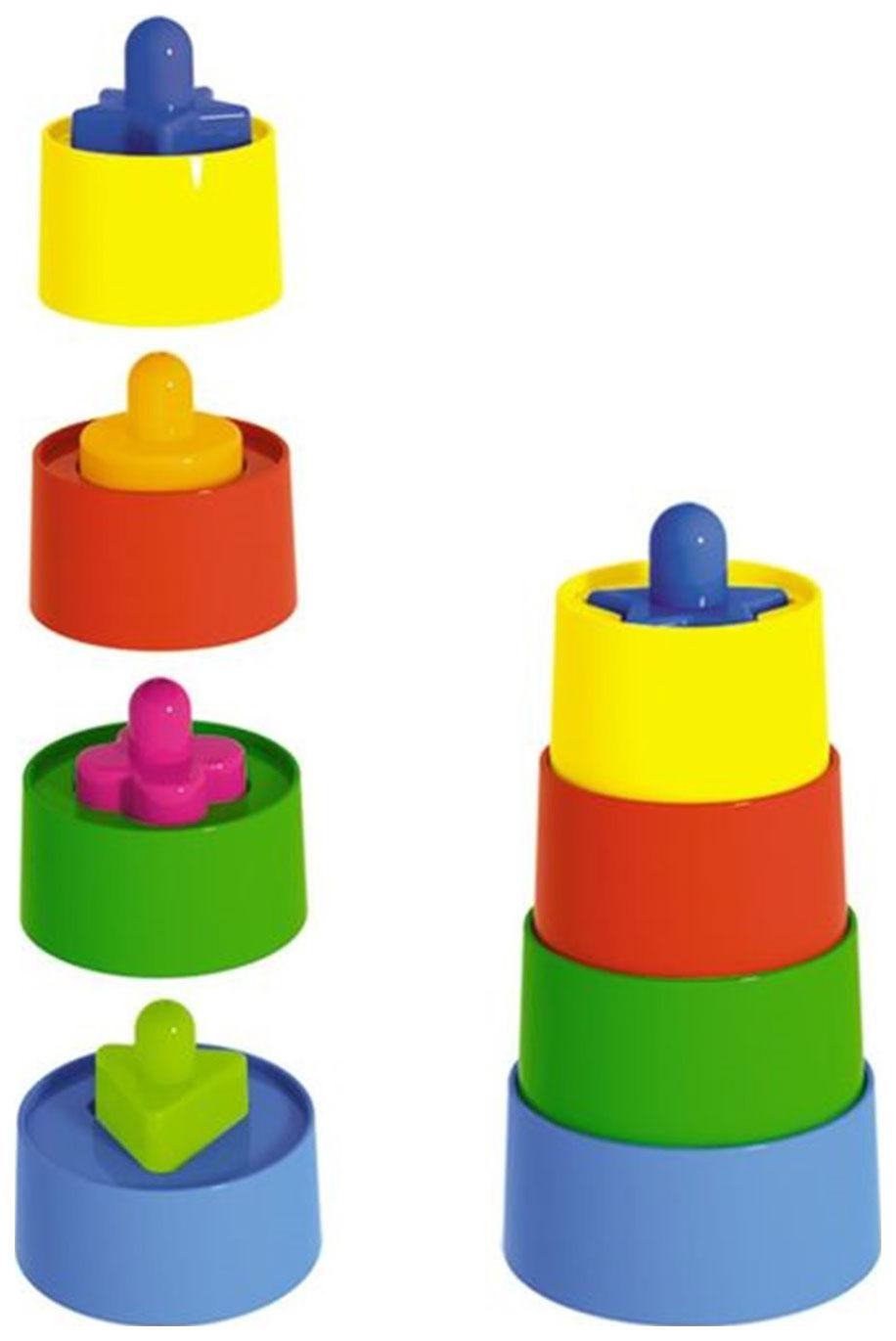Купить Развивающая игрушка Stellar Пирамидка с сортером Матрешка, Пирамидки для детей