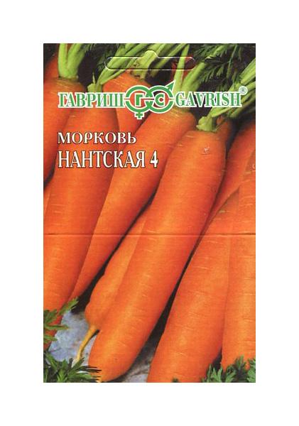 Семена Морковь Нантская 4 (на ленте),