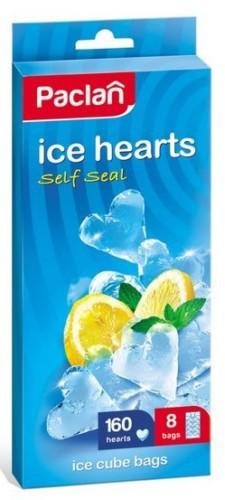 мешочки для льда сердечки 8х20 шт,