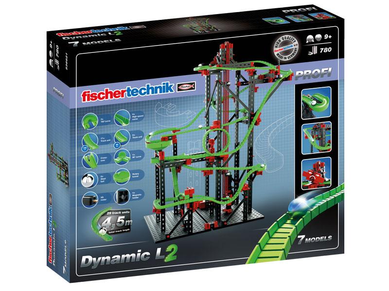 Купить Конструктор пластиковый Fischertechnik Dynamic L 2/ Динамика L 2, Конструкторы пластмассовые