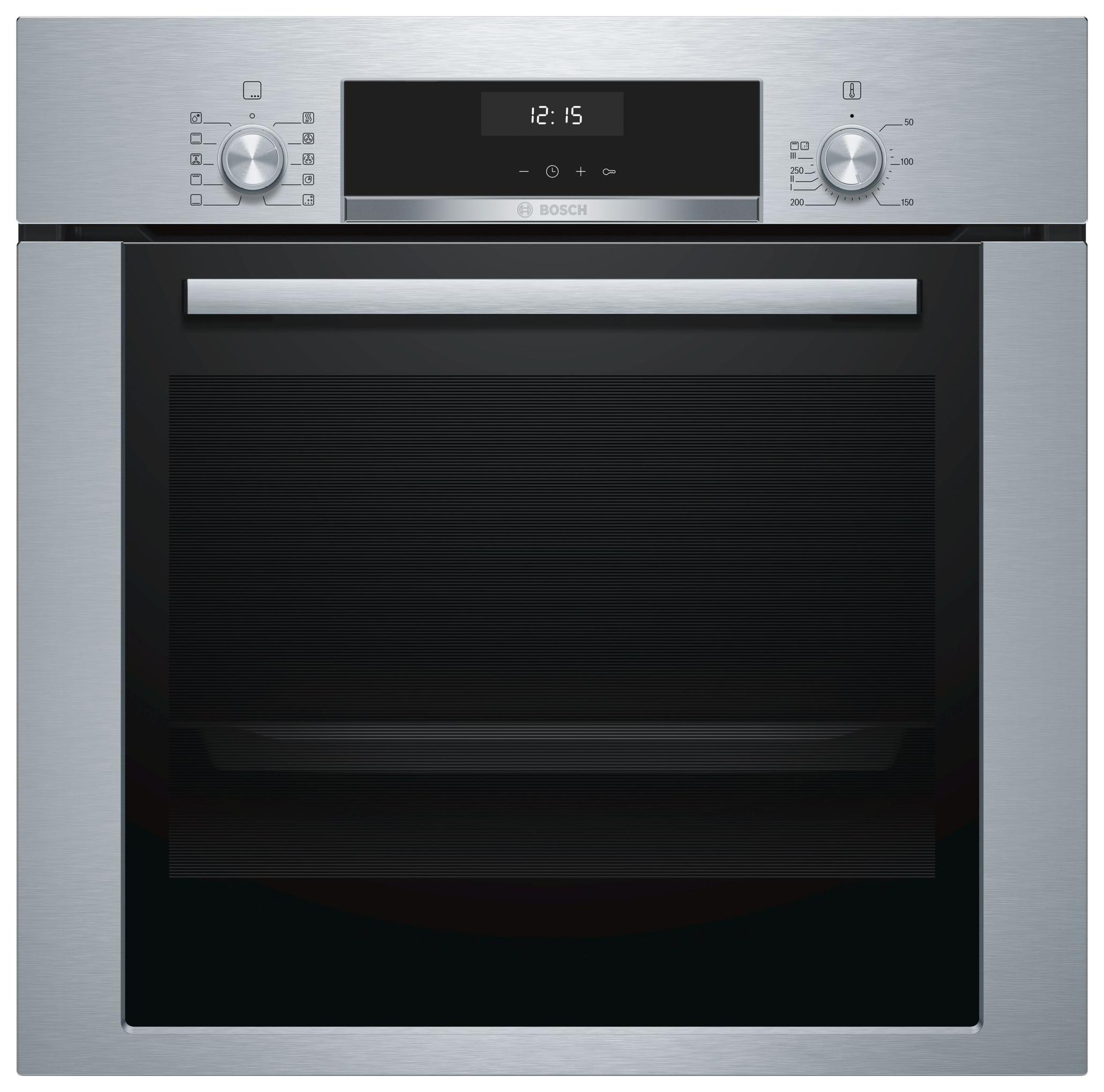 Встраиваемый электрический духовой шкаф Bosch HBJ354AS0Q Silver/Black