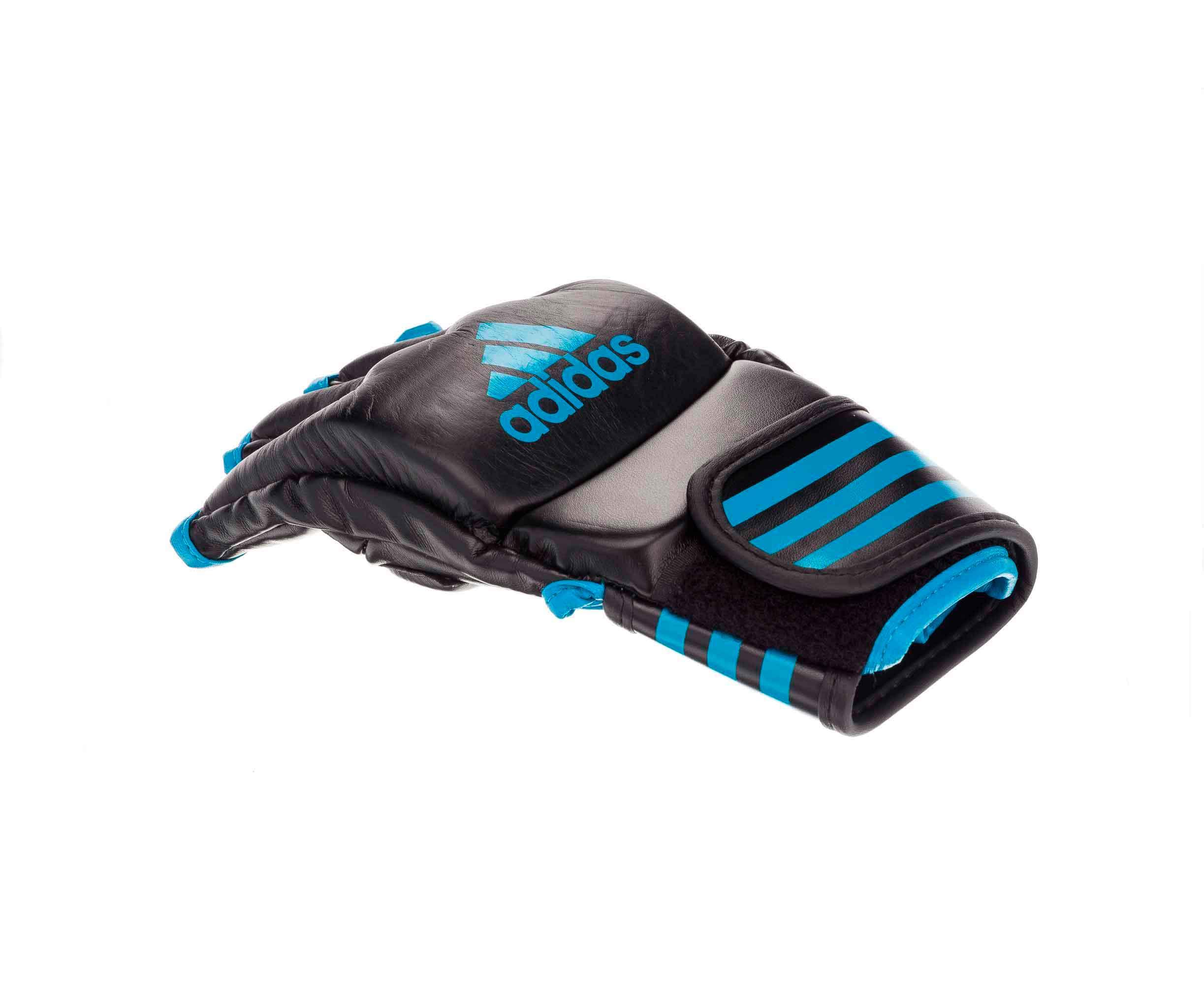 Перчатки для смешанных единоборств Adidas Competition Training черно-синие L