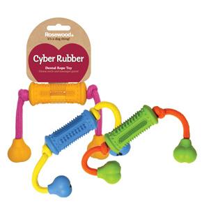 Жевательная игрушка для собак Rosewood Сyber Rubber