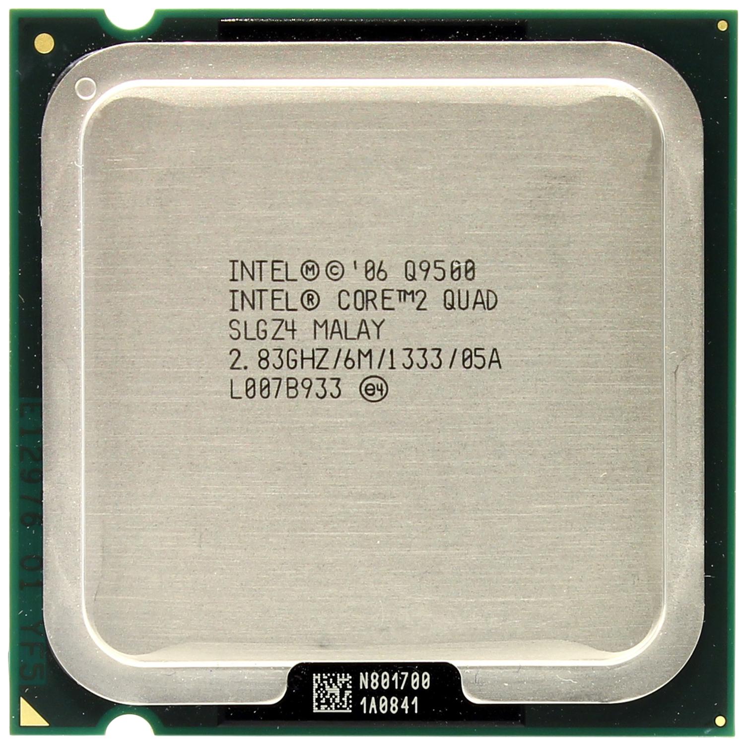 Процессор Intel Core 2 Quad Q9500 OEM