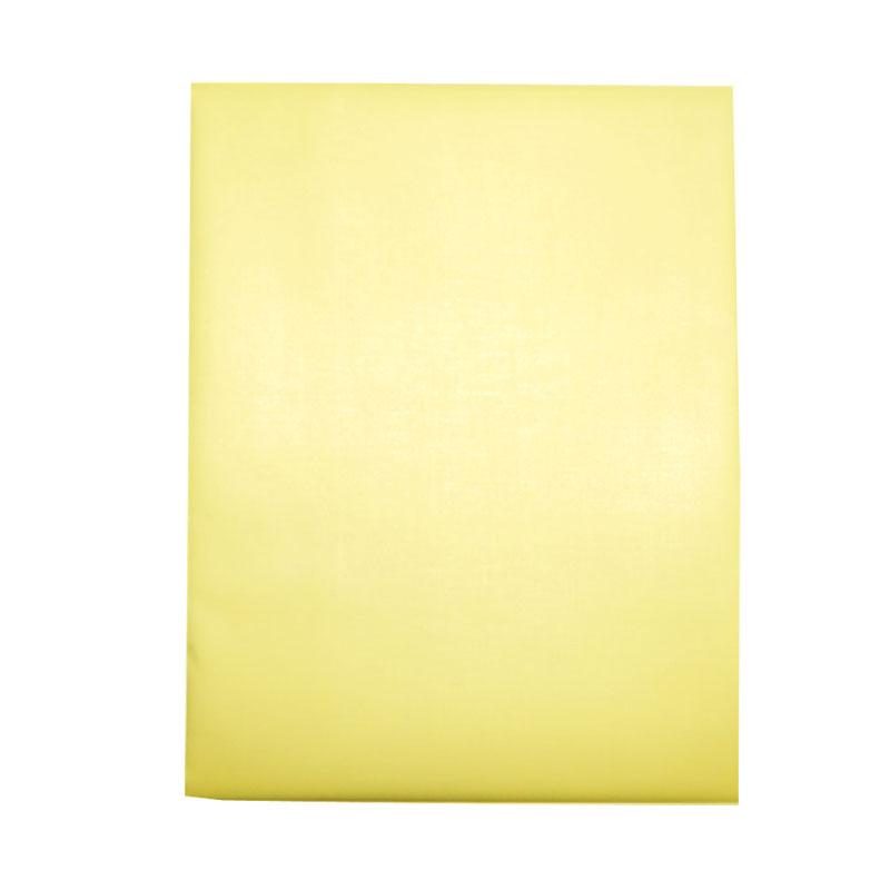 Наматрасник детский Папитто непромокаемый на резинке ПВХ 120х60 Желтый 060
