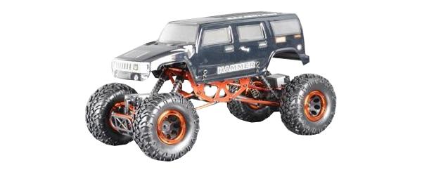 Радиоуправляемая машинка HSP Краулер Right CR 4WD Серый/Оранжевый