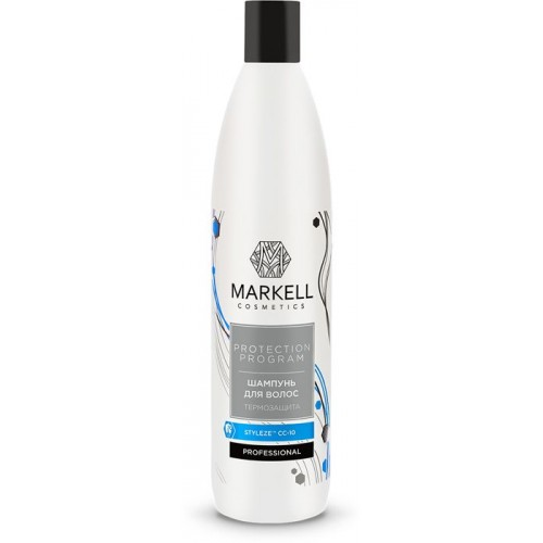Шампунь Markell Professional термозащита для волос 500 мл