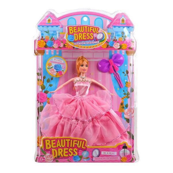 Купить НАША ИГРУШКА Кукла в бальном платье, 29 см 683B, Наша игрушка, Классические куклы