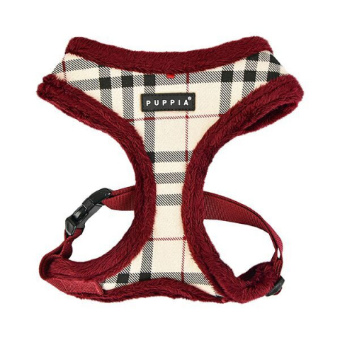 Шлейка утепленная для собак Puppia DEAN HARNESS A  Бежевая, размер L
