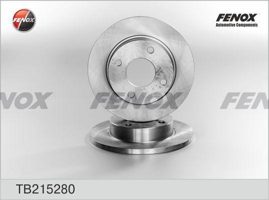 Тормозной диск FENOX TB215280 фото
