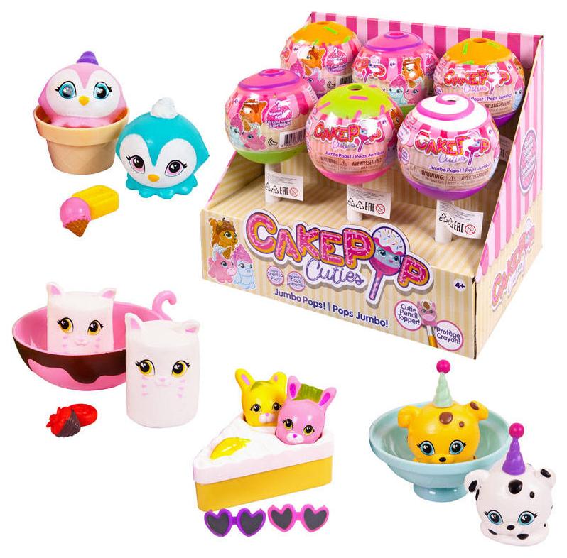 Купить Фигурка Cake Pop Cuties Jumbo Pop Single 27180/1,