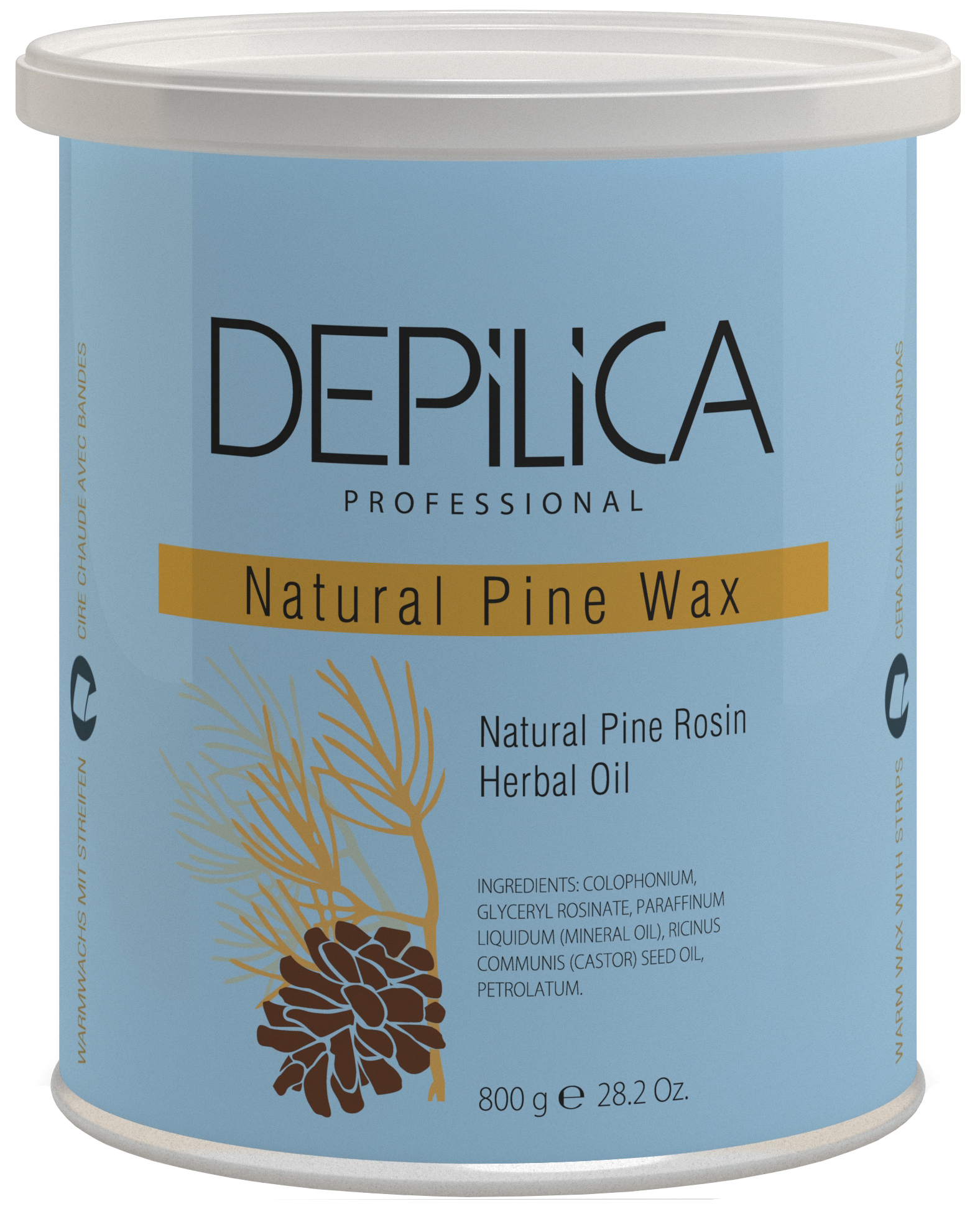 Воск Depilica Professional Natural Pine Warm Wax 800 г