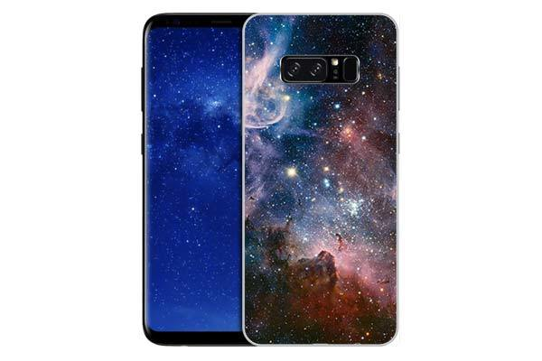 Чехол Gosso Cases для Samsung Galaxy Note 8 «Космос»