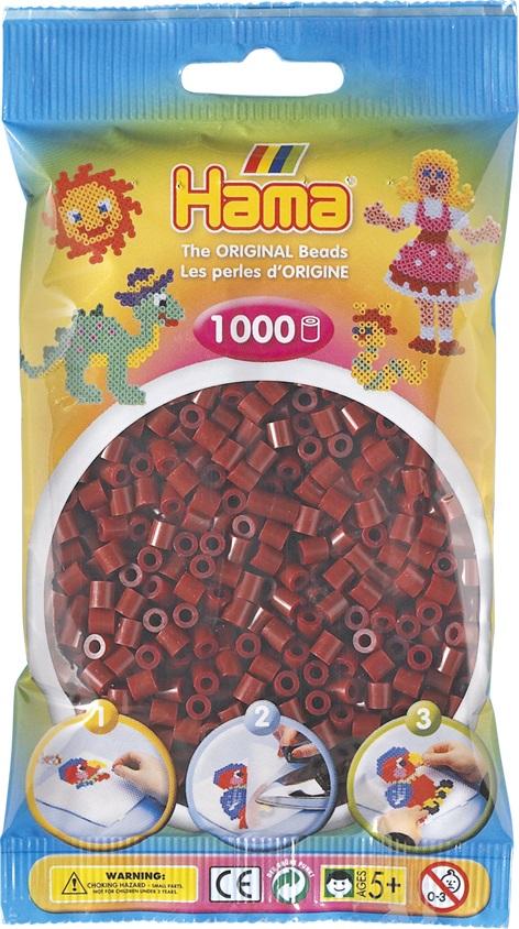 Бусинки MIDI 1000шт. бордовые Hama 207 30