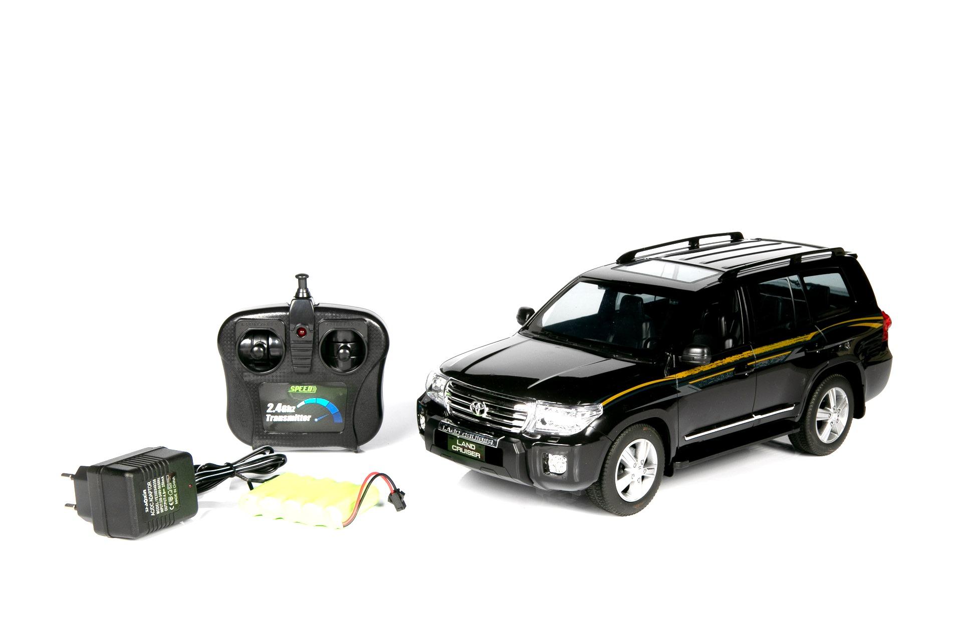 Радиоуправляемая машинка Barty LAND CRUISER P001OC, Чёрный