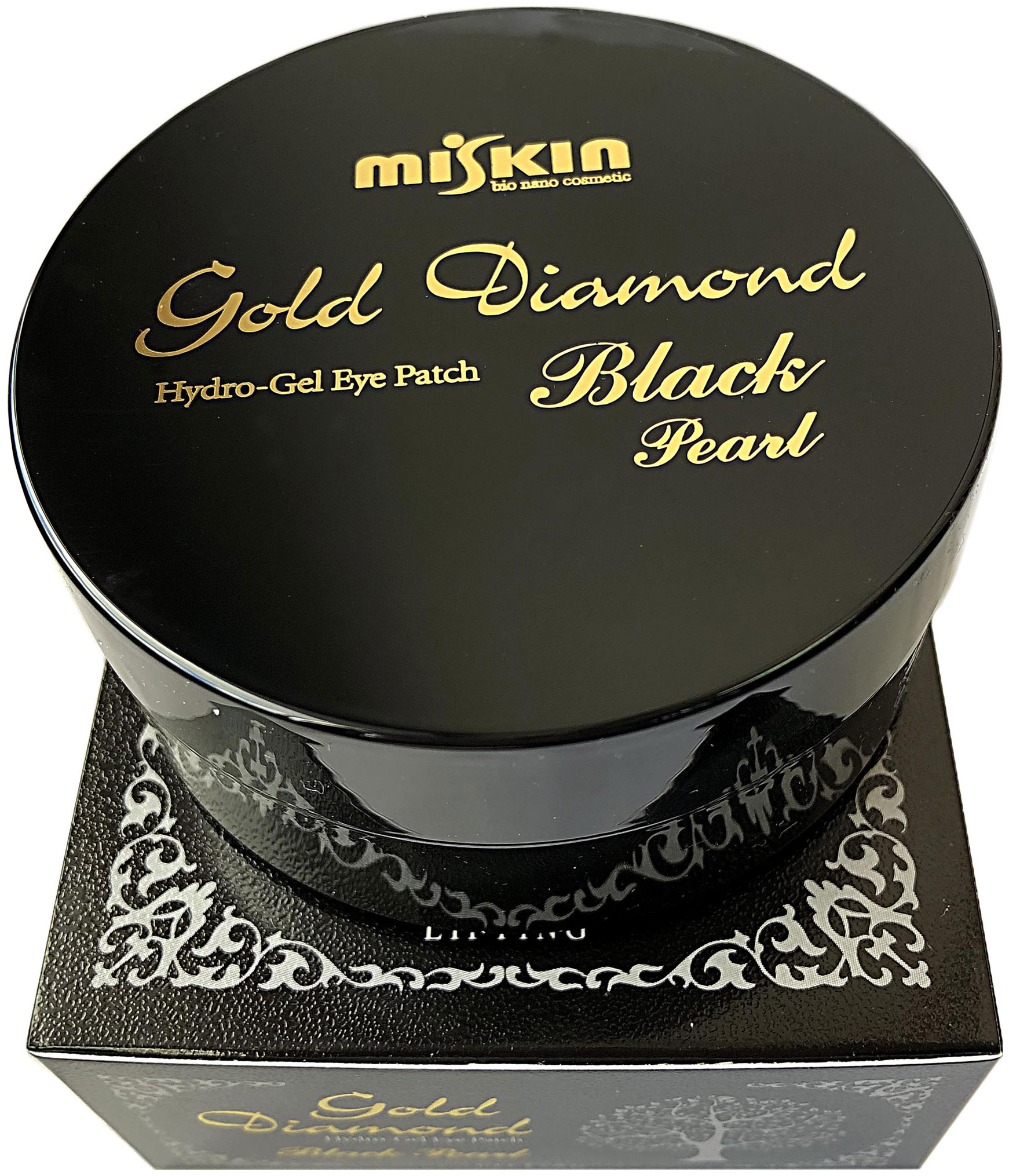 Патчи для глаз Miskin Gold Diamond Hydro