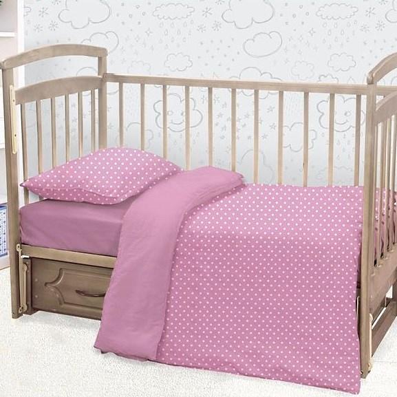 Детское постельное белье ЭТЕЛЬ Lally Цвет: Розовый (112х147 см)