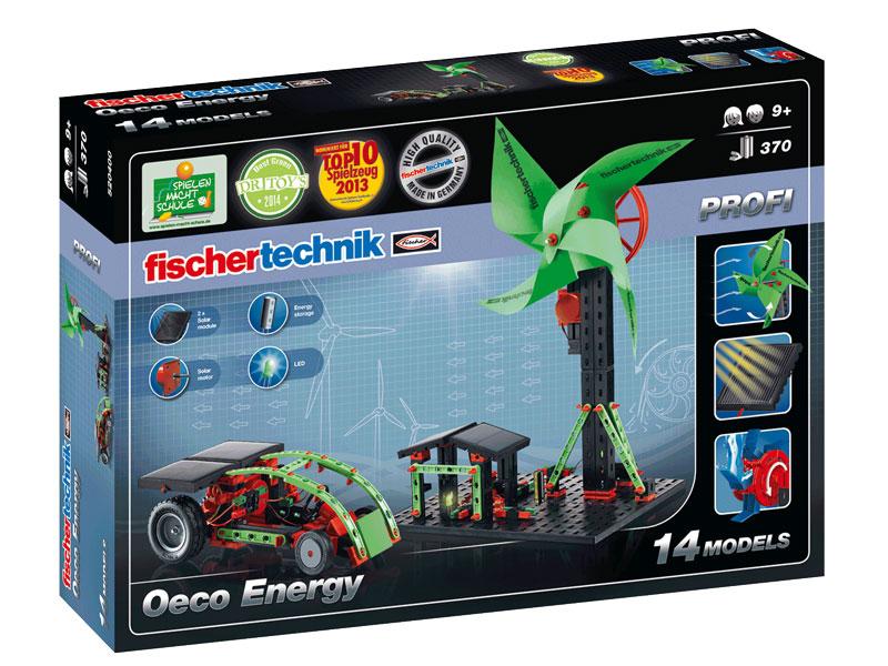 Купить Конструктор Fischertechnik PROFI Eco Energy/Экологическая энергетика,