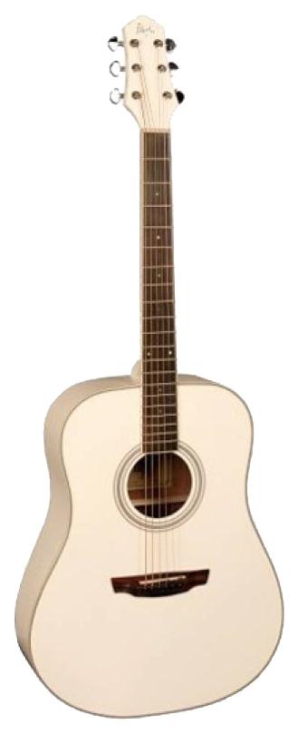 Акустическая гитара FLIGHT AD-200 WH фото