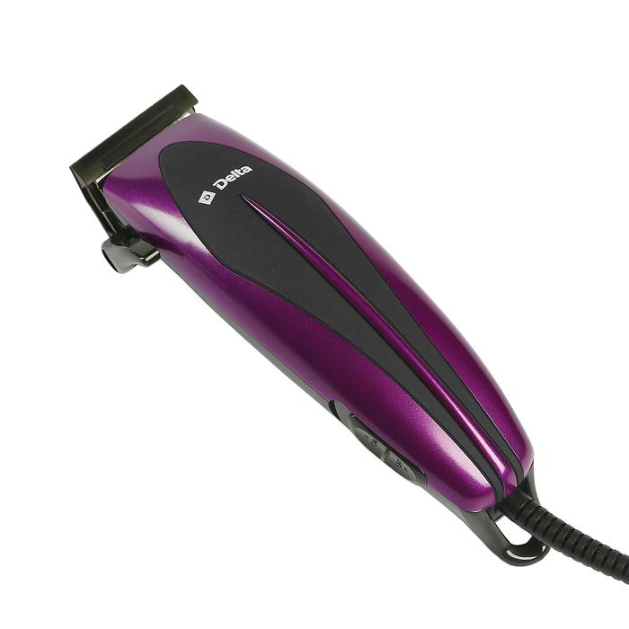 Машинка для стрижки волос Delta DL-4015 Purple