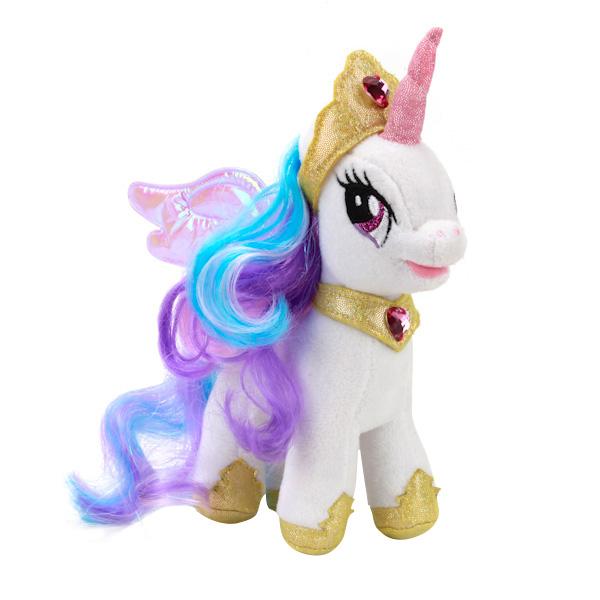 Купить Принцесса Селестия, Мягкая игрушка Мульти-Пульти Пони принцесса селестия (my little pony) озвученная 18 см, Мягкие игрушки персонажи