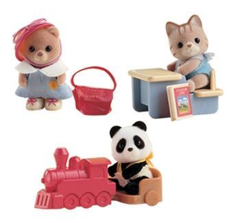 Купить Игрушка sylvanian families младенец 3350, Игровые наборы