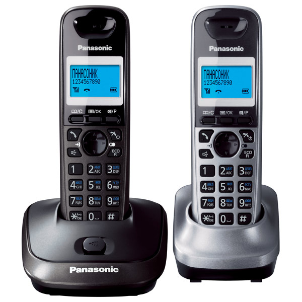 Телефон DECT Panasonic KX TG2512RU2