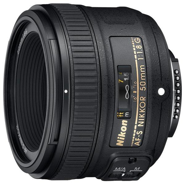 Объектив Nikon AF-S Nikkor 50mm f/1.8G фото