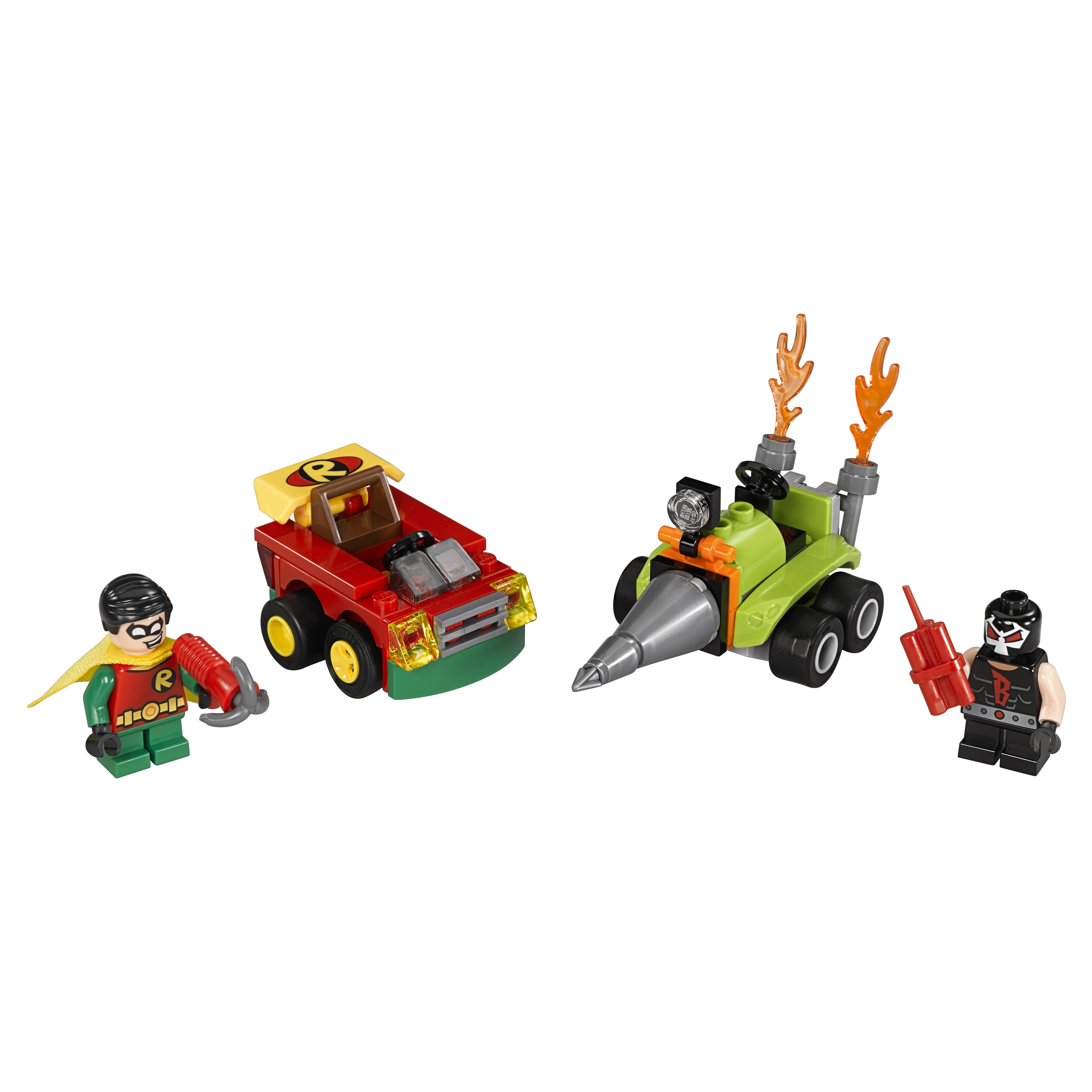 Купить Конструктор LEGO Super Heroes Робин против Бэйна (76062)