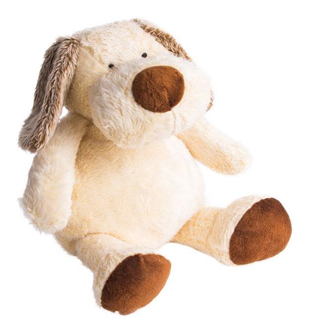 Купить Мягкая игрушка Button Blue Щенок Санти, 26 см, Мягкие игрушки животные