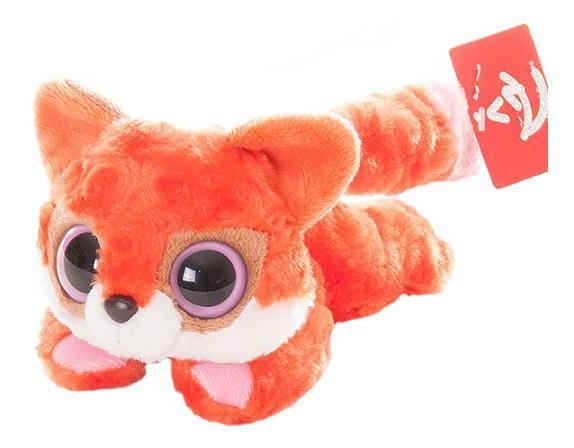 Мягкая игрушка Aurora Юху и его друзья 16-103 Лисица красная лежачая, 16 см