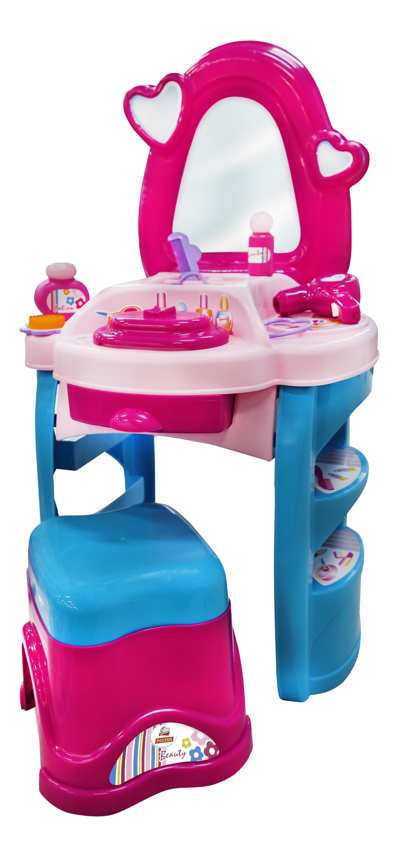 Игровой набор Полесье Palau Toys Салон красоты Диана №3 в пакете, Игрушечные туалетные столики  - купить со скидкой