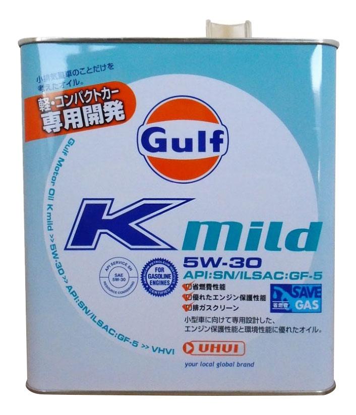 Моторное масло Gulf K Mild GF-5 SN 5W-30 3л