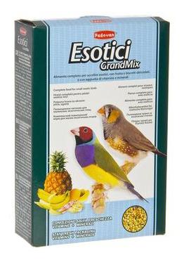 Основной корм Padovan для экзотических птиц 400 г, 1 шт фото