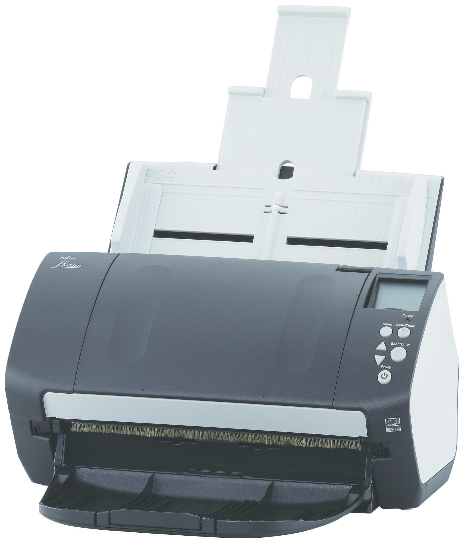 Сканер Fujitsu fi 7160 PA03670 B051 Белый,