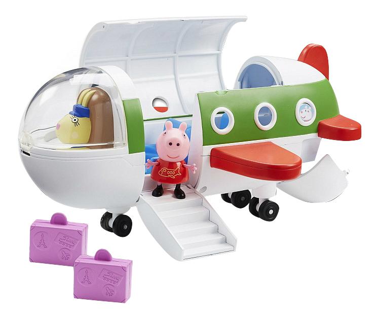 Купить Игровой набор Росмэн Peppa Pig Самолет с фигуркой Пеппы, Игровые наборы