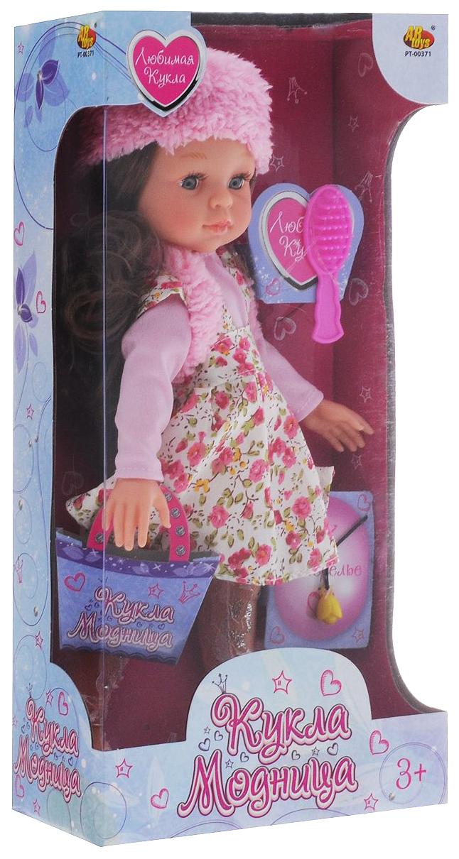 Кукла ABtoys Модница с аксессуарами, 3 вида в ассортименте 34х17х8,5 см