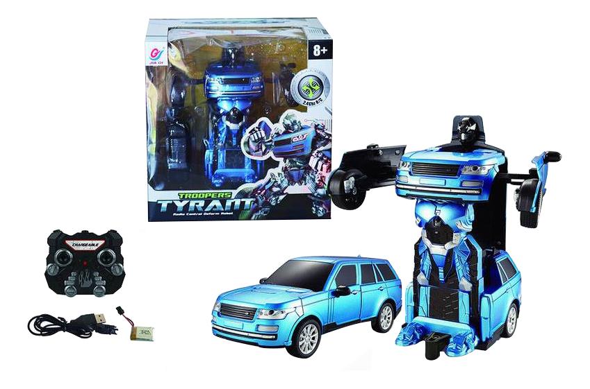 Купить Радиоуправляемый робот Troopers Tyrant синий, NoBrand,