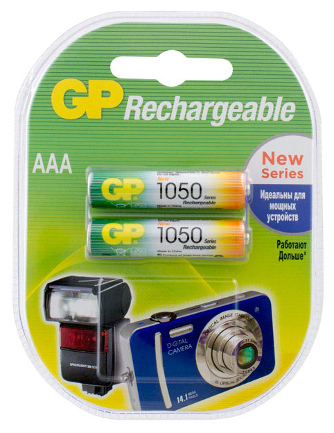 Аккумуляторная батарея GP Batteries PRO 105PROAAAHC 2CRC2